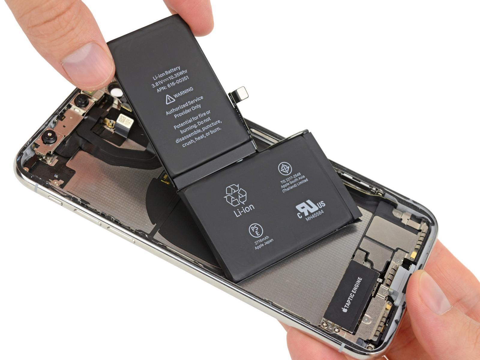 thay pin iphone x chính hãng tại hà nội